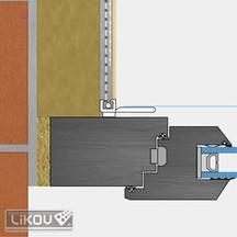 Okenní profily - začišťovací