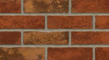 Fasádní pásek červenocihlová