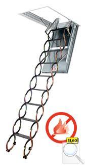 LSF stahovací protipožární schody