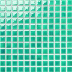 Mozaika světle zelená | rozměr:  30 x 30 cm | kód: MOS23LGR