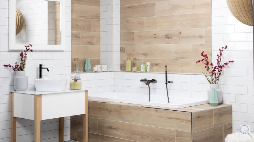 Skandinávská koupelna