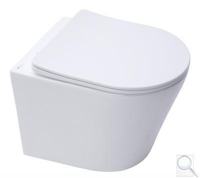 WC se sedátkem softclose závěsné SAT Infinitio zadní odpad SATINF010RREXP obr. 1
