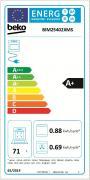 Vestavná trouba Beko BIM 25402 XMS (Energetický štítek)