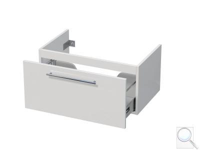 Koupelnová skříňka pod umyvadlo Naturel Ratio 75,5x36x37 cm bílá lesk PN801Z36.9016G obr. 1