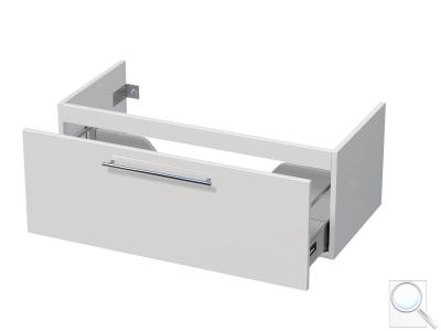 Koupelnová skříňka pod umyvadlo Naturel Ratio 95,5x36x37 cm bílá lesk PN1001Z36.9016G obr. 1