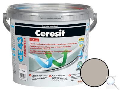 Spárovací hmota Ceresit CE 43 šedá 5 kg CG2WA