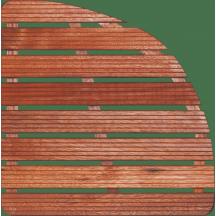 Sprchová rohož Aris dřevo ČTVRTKRUH
