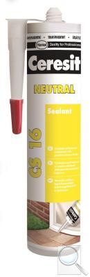 Silikon Ceresit CS 16 šedá 300 ml