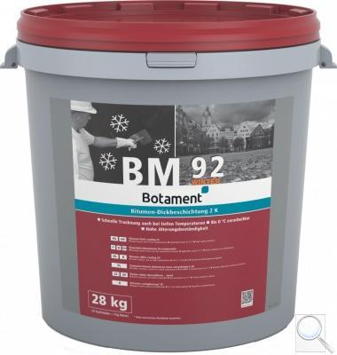 Živičná stěrka dvousložková - zimní BM92Winter