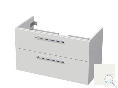 Koupelnová skříňka pod umyvadlo Naturel Ratio 95,5x56x37 cm bílá lesk PN1002Z56.9016G obr. 1