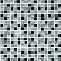 Mozaika šedá   rozměr:  30,5 x 30,5 cm   kód: STMOS15MIX1