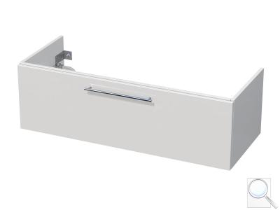 Koupelnová skříňka pod umyvadlo Naturel Ratio 122x36x38,5 cm bílá lesk PN1251Z36.9016G obr. 1