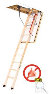 LWF 45 protipožární skládací schody