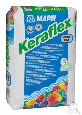 Lepidlo Mapei Keraflex 25 kg šedá (C2TE)