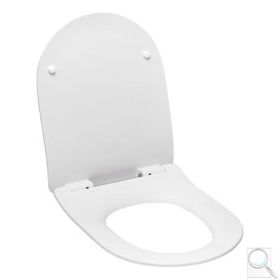 WC sedátko Glacera duroplast bílá matná AL030SMW obr. 1