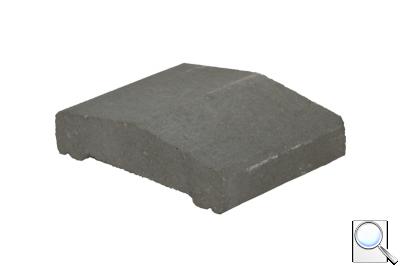 Plotová stříška pro modulovou šířku 150 mm KB ps-15 A 200 Přírodní, povrch hladký