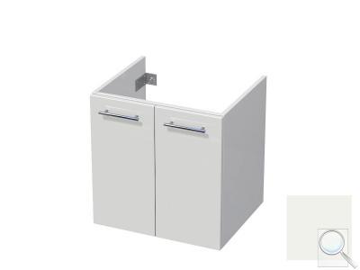 Koupelnová skříňka pod umyvadlo Naturel Ratio 60x61,5x40 cm bílá lesk CU602D56.9016G obr. 1