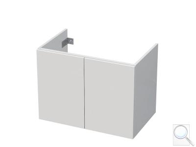 Koupelnová skříňka pod umyvadlo Naturel Ratio 80x61,5x40 cm bílá lesk CU802D56PU.9016G obr. 1