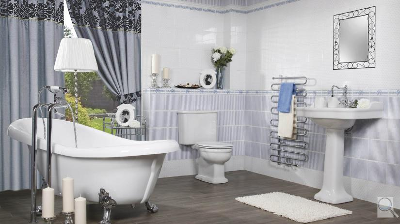 Romantická koupelna