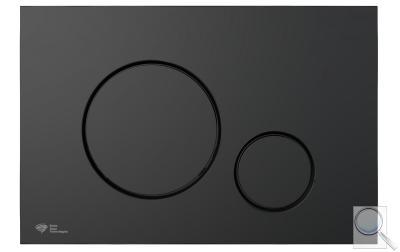 Ovládací tlačítko SAT plast černá mat SATAT68 obr. 1