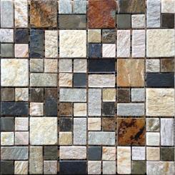Mozaika vícebarevná   rozměr:  30 x 30 cm   kód: STMOS4823MIX1