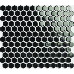 Mozaika černá | rozměr:  26 x 30 cm | kód: MOS26BK