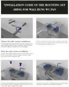 WC závěsné Glacera Alfa mat zadní odpad AL010MW (obr. 3)