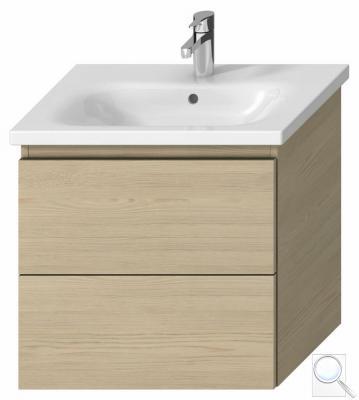 Koupelnová skříňka pod umyvadlo Jika Mio-N 61x44,5x59 cm Jasan (kódH40J7154013421)
