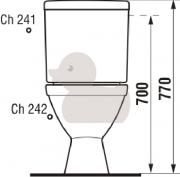 WC kombi (Technický nákres (1))