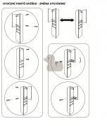Koupelnová skříňka s umyvadlem Verona (obr. 7)