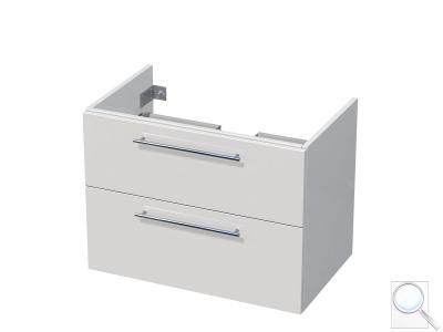 Koupelnová skříňka pod umyvadlo Naturel Ratio 75,5x56x37 cm bílá lesk PN802Z56.9016G obr. 1