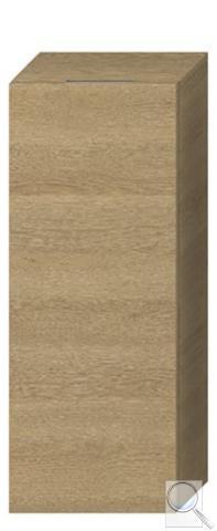 Koupelnová skříňka nízká Jika Cubito 32x15x81 cm dub obr. 1