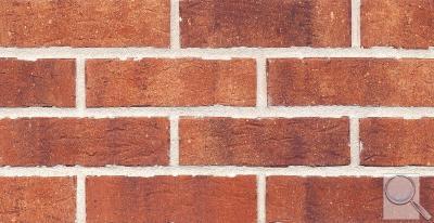 Fasádní pásek Klinker oranžovocihlová obr. 1