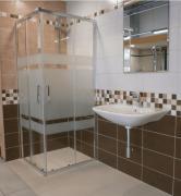 Sprchový kout čtverec Siko TEX (obr. 2)