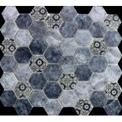 Mozaika azul | rozměr:  28 x 32,4 cm | kód: PATCHWORK45AZ