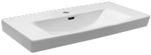 Nábytkové umyvadlo Laufen Pro Nordic 80x42 cm