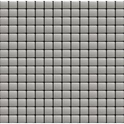 Mozaika nerez   rozměr:  30,5 x 30,5 cm   kód: MOS20NRZ