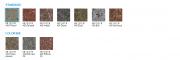 Tvarovka štípaná ze 4 stran - sloupová (Barvy KB 13-21 B 400 Sandard)