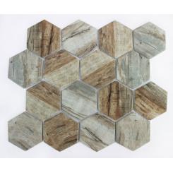 Mozaika brown | rozměr:  25,8 x 29,8 cm | kód: MOSV84HBR
