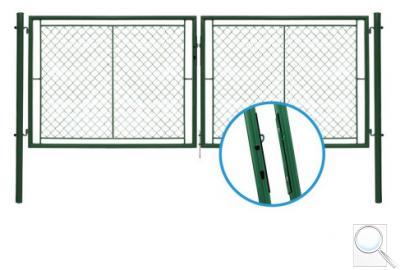 Dvoukřídlá brána IDEAL II