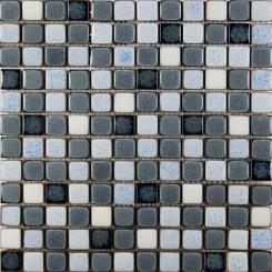 Mozaika šedá | rozměr:  30,5 x 30,5 cm | kód: MOSS23MIX2
