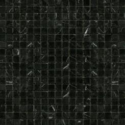 Mozaika černá   rozměr:  30,5 x 30,5 cm   kód: STMOS15BKP