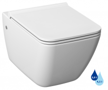 Závěsné WC Cube Way se sedátkem Softclose