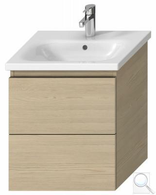 Koupelnová skříňka pod umyvadlo Jika Mio-N 51,4x44,5x59 cm Jasan (kódH40J7134013421)