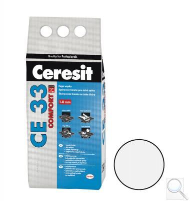 Spárovací hmota Ceresit CE 33 bílá 2 kg CG1