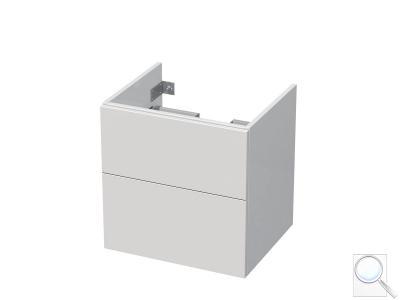 Koupelnová skříňka pod umyvadlo Naturel Ratio 51,5x56x37 cm bílá lesk PN562Z56PU.9016G obr. 1