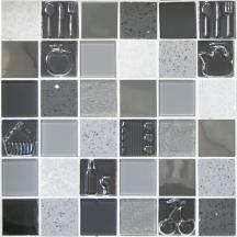 Skleněná mozaika Mosavit Kitchen gris