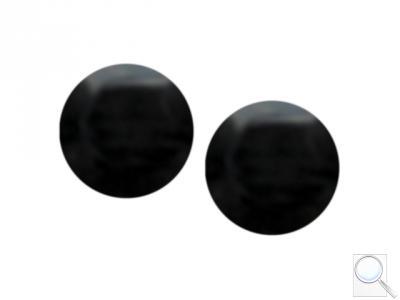 Ucpávka otvoru kliky - černá (2 ks) Ucpávka Otvoru Kliky - Černá (2ks)