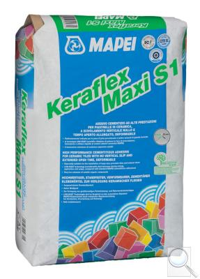 Lepidlo Mapei Keraflex Maxi S1 Low Dust 25 kg šedá (C2TE S1)