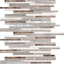 Mozaika šedá   rozměr:  24,5 x 30,5 cm   kód: STMOS7140MIX1